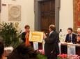 MILENA VUKOTIC premia GIANCARLO MAGALLI premiovincenzocrocitti 2013