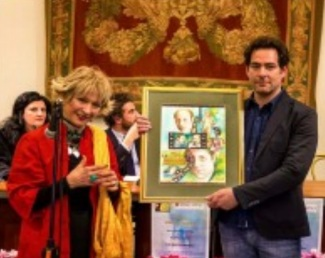 Principessa NIKE BORGHESE premia FERNANDO CORMICK