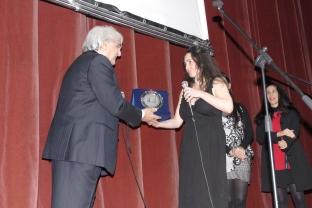 ERNESTO BRANCUCCI e CHORUS LINE riceve premio da PRINCIPESSA SFORZA