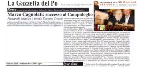 GAZZETTA DEL PO-premio2013